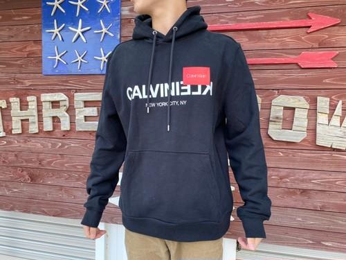 【海外買い付け】Calvin Klein パーカー(black)