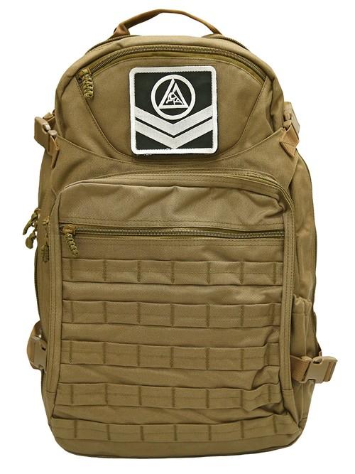 予約注文受付中!送料無料!グレイシー  Venture Tactical タクティカル バックパック 茶色