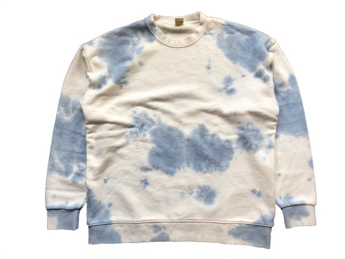 TIE-DYE CREWNECK SWEAT / SCREEN STAR