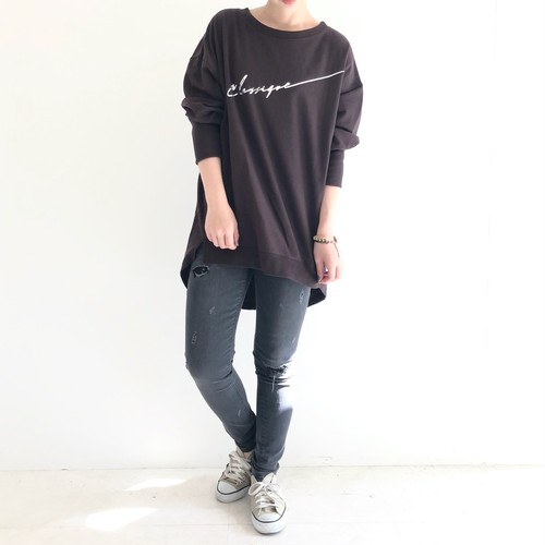 【 ANTGAUGE 】- C1711 - OLIVIA CROPPED BOYS FIT SLIM