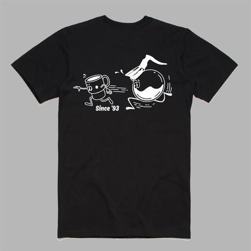 MAX BLACKMORE x COFFEE SUPREME T-shirts Type2