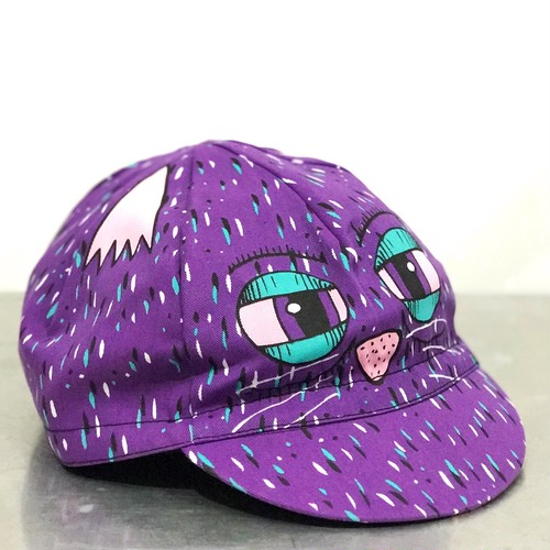 "CUT CATS COURIER ""SICK FISHER CYCLING CAP"""