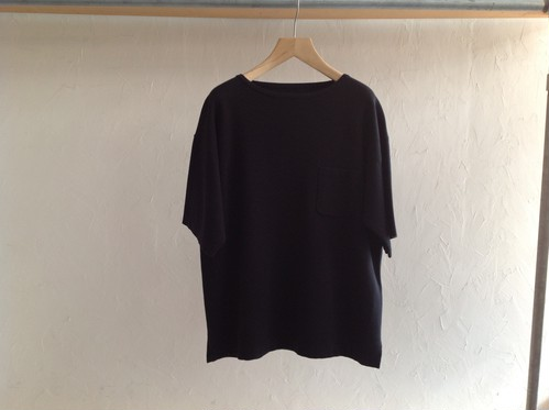 "crepuscule  "" Pocket Knit T-shirt  Black """