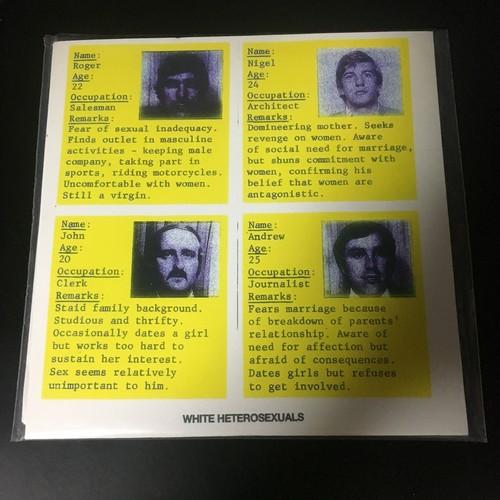 "White Heterosexuals – I Left My Rape Kit In San Francisco(7""EP)USED"