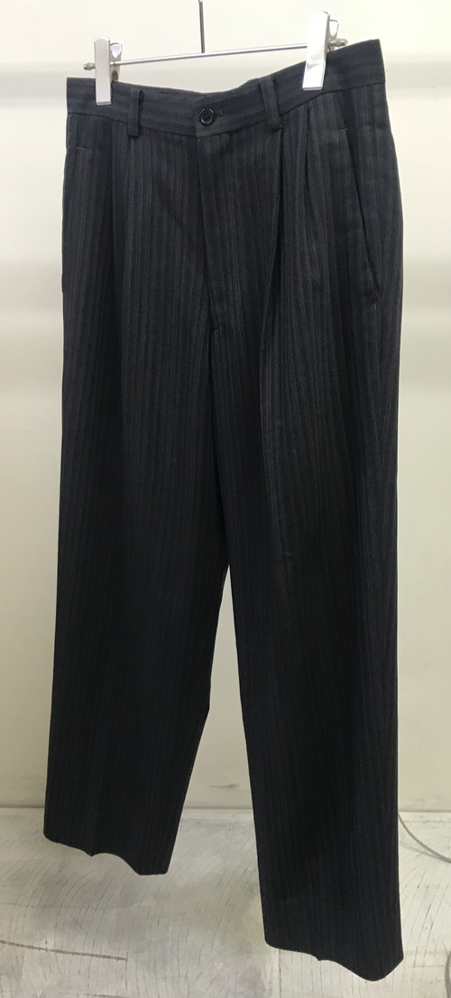 1980s ISSEY MIYAKE STRIPED TROUSERS