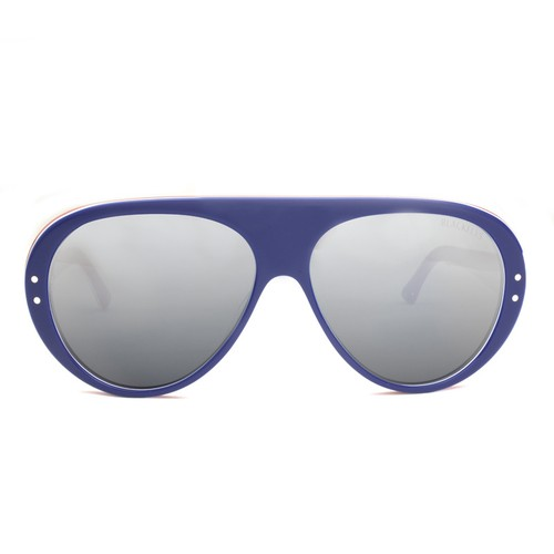 FLY WACKO S.BLUE TRICOLORE / SMOKE SILVER MIRROR