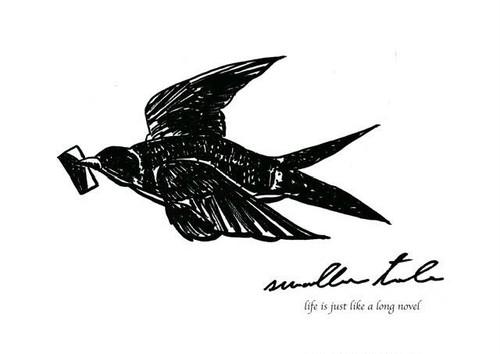 気持ちを届ける燕の手紙