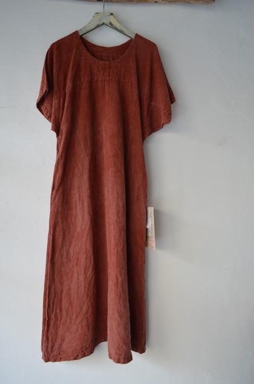 MOJIRI SLEEVE ONEPIECE DRESS もじり袖のワンピース