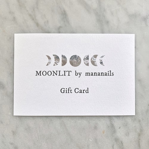 MOONLIT Gift Card (担当:manami)