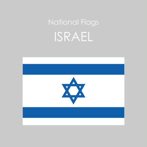 National Flags Sticker [ISRAEL]