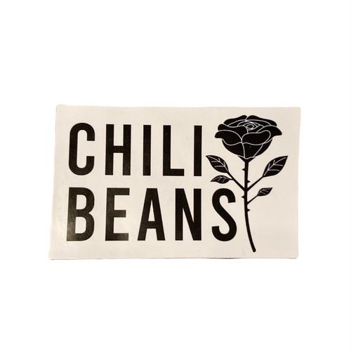 CHILI BEANS #CB Rose Sticker
