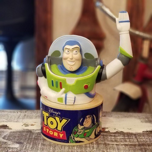 USED TOYSTORY BUZZ BREAST FIGURE
