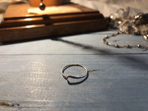 AMERICA 80's~90's vintage silver ring