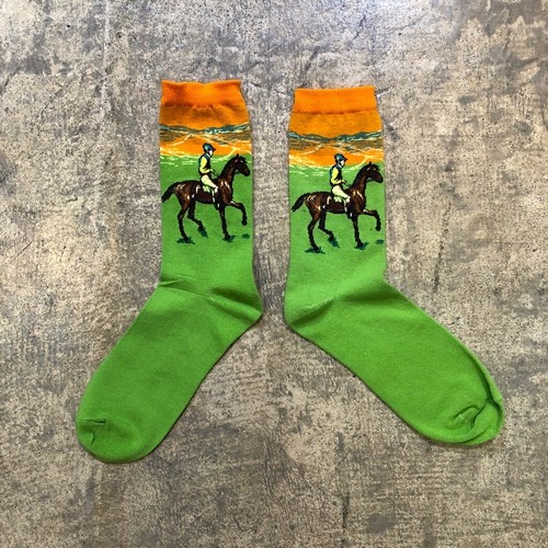 Graphical Sox    Color : Horse Riding