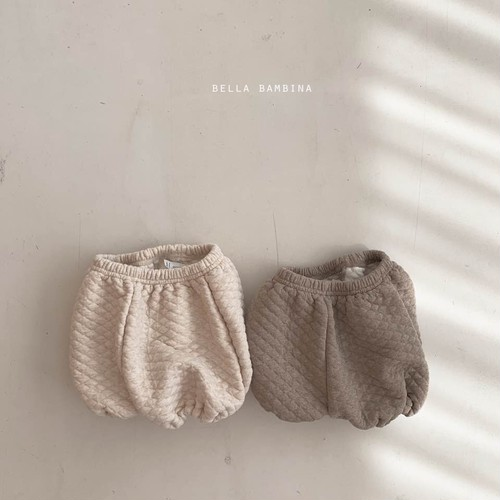 =sold out= quilting bloomers〈BELLA BAMBINA〉【baby】