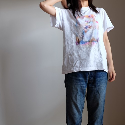 Rainbow shoes【5.6oz T-shirt】