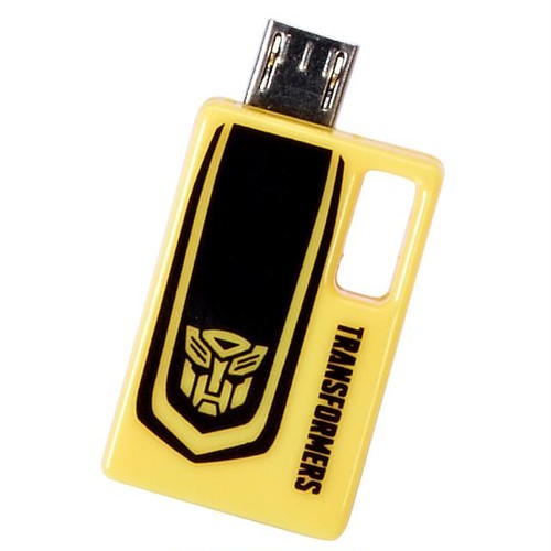 InfoThink OTGアダプタ TRANSFORMERS トランスフォーマー/ロストエイジ OTG MicroUSB USB TRANSFORMER4 IT-OTG(TF4)