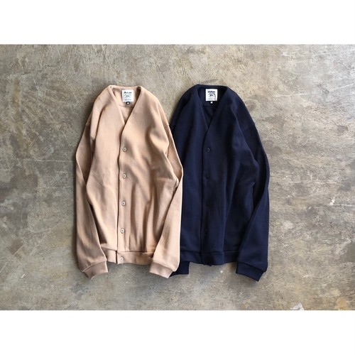 Jackman(ジャックマン) Heavy Pima Sweat Cardigan JM8966