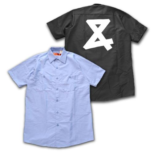 AND logo Short sleeve Work shirt