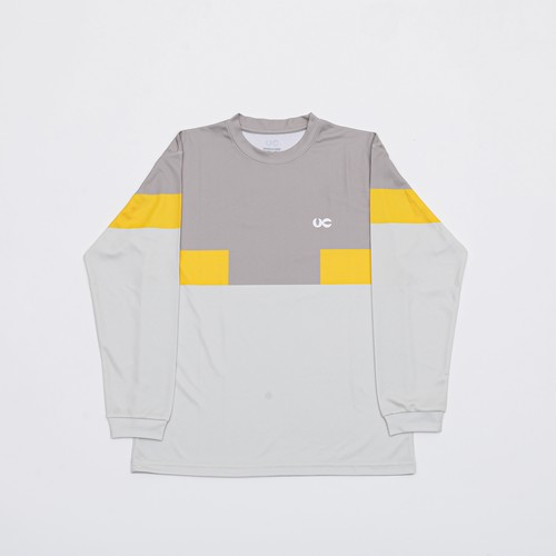 VC 3COLOR L/S TEE SAND/YEL/BEG