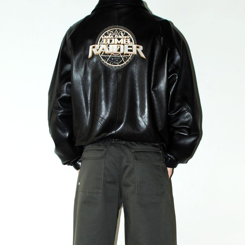 2001 『Tomb Raider』 official leather jacket