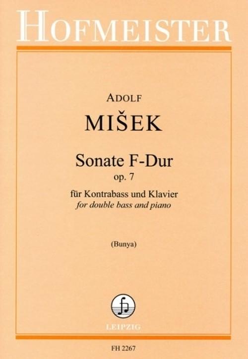ミシェク : ソナタ Op.7 / コントラバスとピアノ