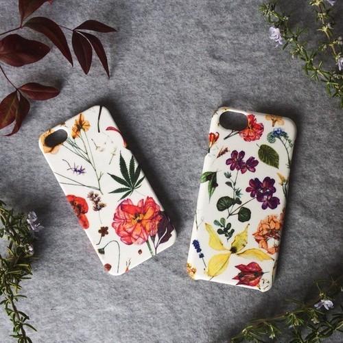大人な花柄・上品可愛い春のiPhoneケース♪