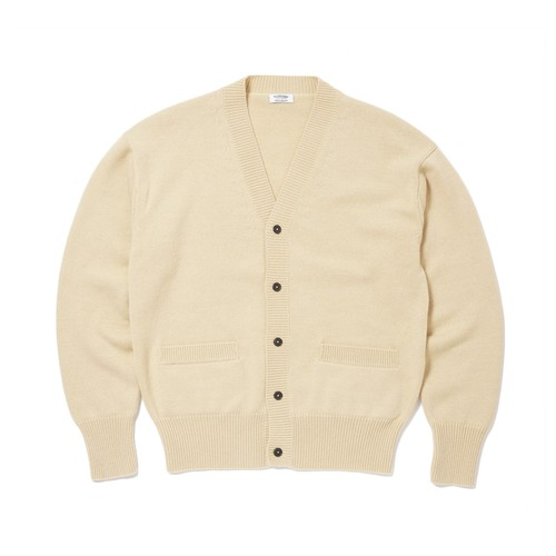 MAATEE & SONS CASHMERE CARDIGAN(YELLOW)