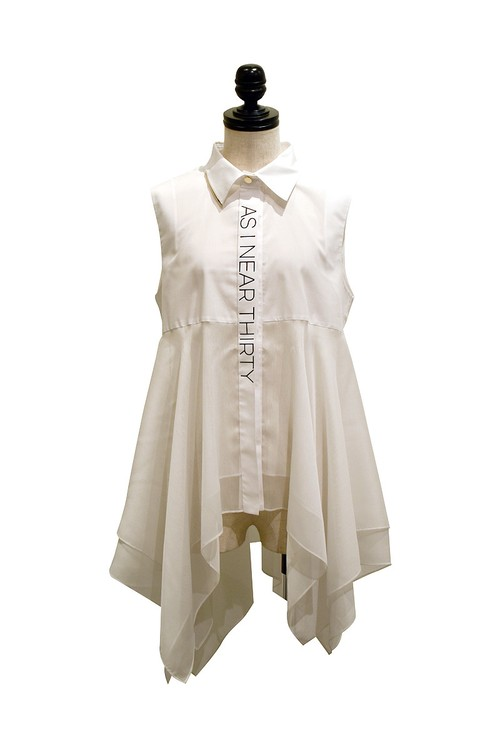 J WOO / blouse 11 / WHITE