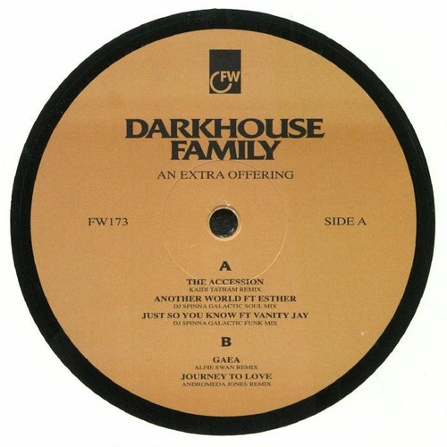 "【12""】Darkhouse Family - An Extra Offering"