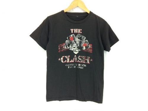 THE CLASH クラッシュ ツアーTシャツ M位 黒