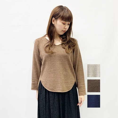 OUTERSUNSET(アウターサンセット) v-neck short po 2020春物新作 [送料無料]