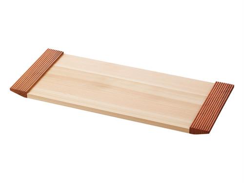 木製トレー 「ヒノキとサクラのティーマット 取手タイプ」 日本製