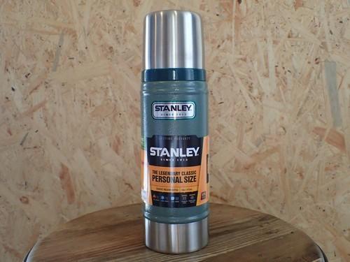 STANLEY(スタンレー) クラシック真空ボトル(水筒) 0.47L グリーン