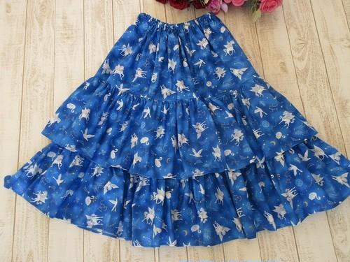 星座に輝くペガサス世界のロングスカート