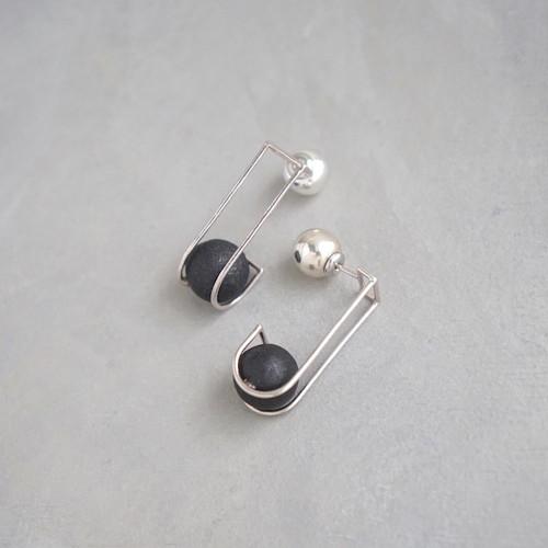pierced earrings MP-01/earrings ME-01<silver>