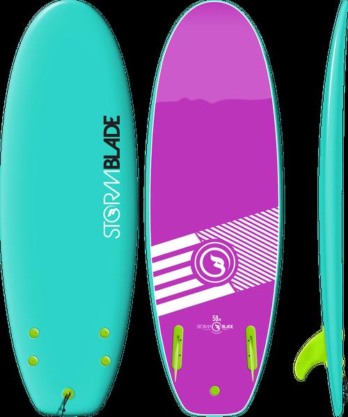 Storm Blade 58in Mini Board / Turquoise
