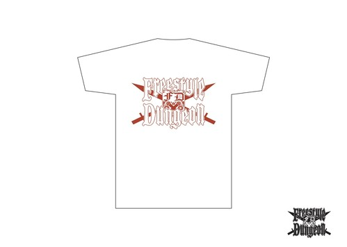 フリースタイルダンジョン オリジナルTシャツ(WHITE / RED)