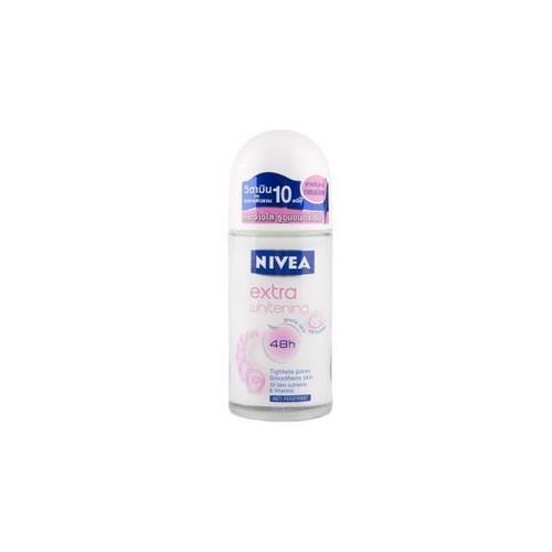 ニベア ロールオン デオドラント エクストラ ホワイトニング / NIVEA Roll-On Deodorant extra whitening 50ml