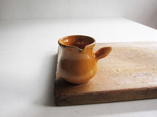 19c 南仏 黄釉のクレミエ