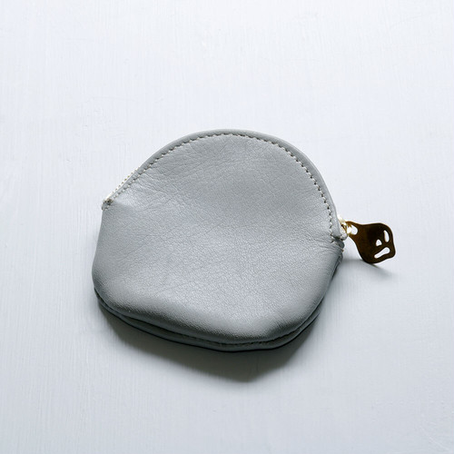 egg coin case (gray)