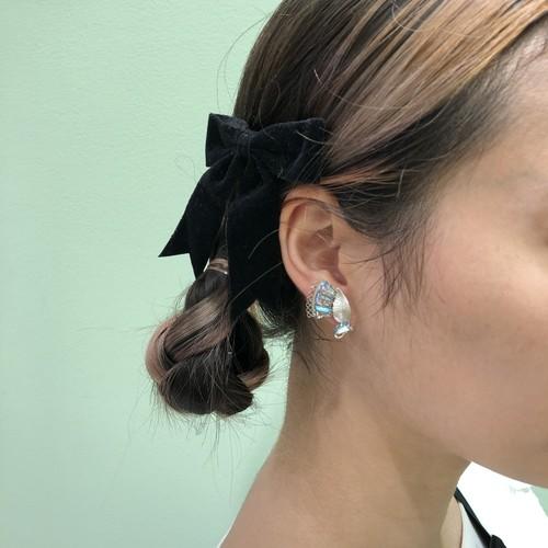 -Vintage HOLIC-【RunRabbitRunVintage】Vintage silver earring
