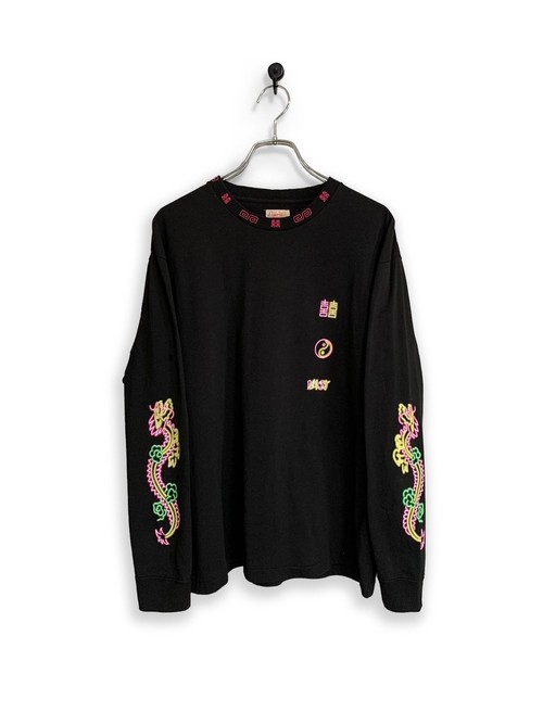 Original Long Sleeve-T / noodle/black