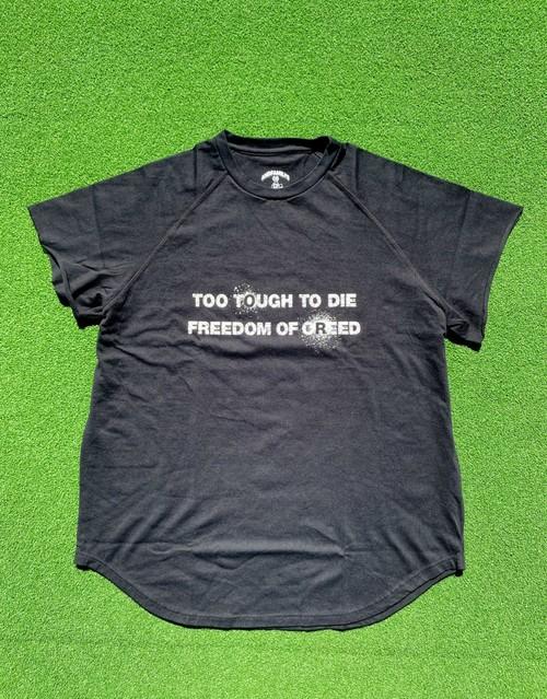 Cutoff Raglan T-Shirts (BK/WH/RD)