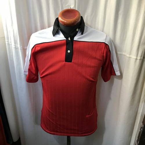 70's vintage Hilton ヒルトン ポリエステル ポロシャツ メンズS