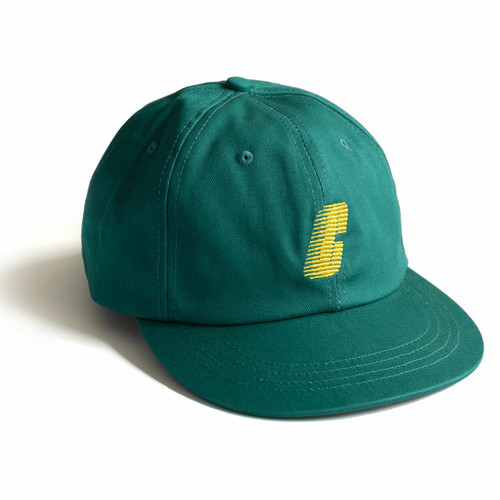 CHRYSTIE NYC(クリスティー ニューヨーク) / RACE C LOGO HAT -FOREST GREEN-