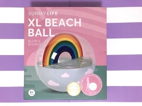 【SUNNYLIFE】レインボービーチボール