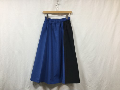 "semoh "" Womens bi-color skirt "" Blue"