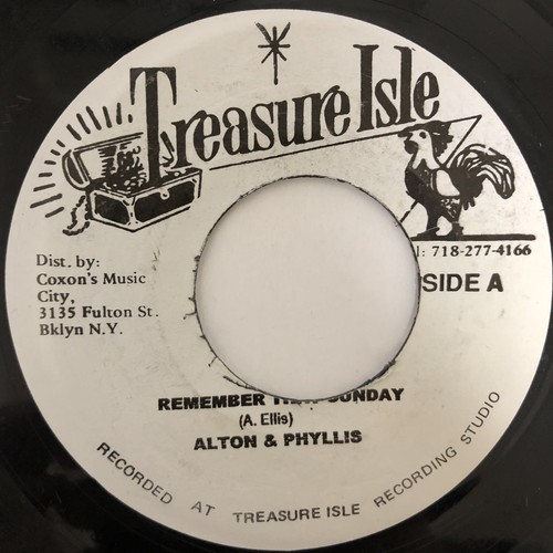 Alton Ellis - Remember That Sunday【7-20438】