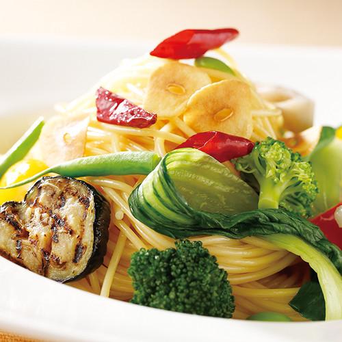8種類の野菜に唐辛子をきかせたペペロンチーノソース【辛口】